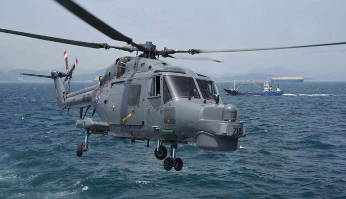 Askeri helikopter düştü: 2 ölü