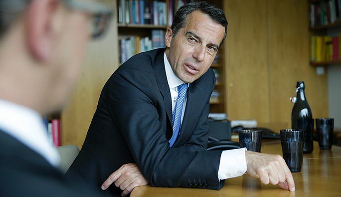 Avusturya Başbakanı Kern: 'Türkiye anlaşması bozulursa, AB tehlikeye girer'