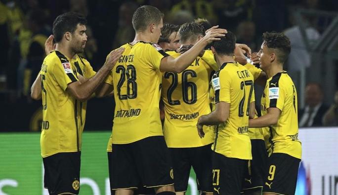 Dortmund, 3 puanı 3 golle aldı