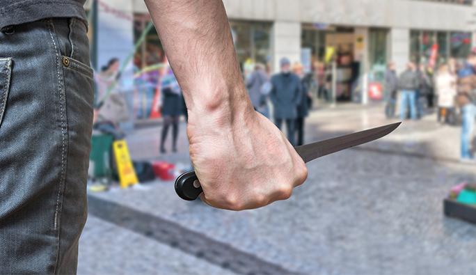 Mödling'te polis bıçaklı saldırganı vurdu