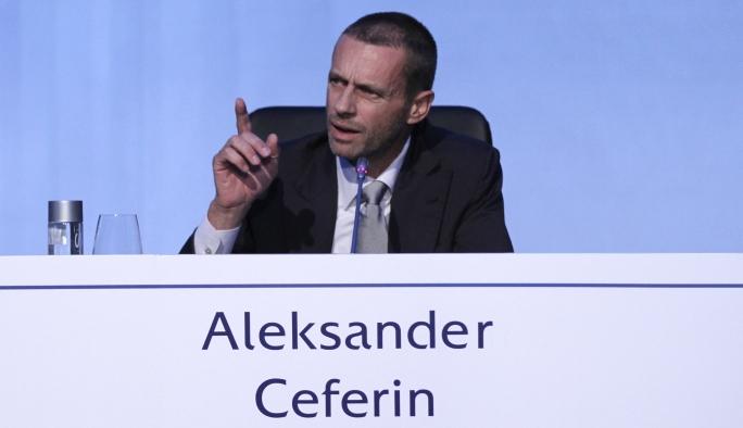UEFA'nın yeni başkanından Avrupa'nın büyük kulüplerine gözdağı