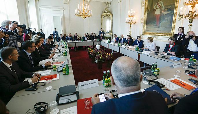 Viyana'da kritik zirve