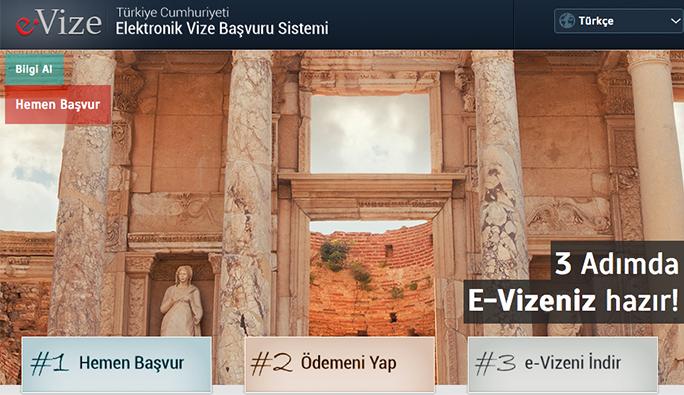 Yabancı turistler 3 dakikada Türkiye vizesi alıyor