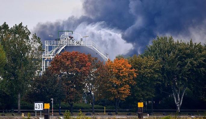 Almanya'da kimya fabrikasında patlama