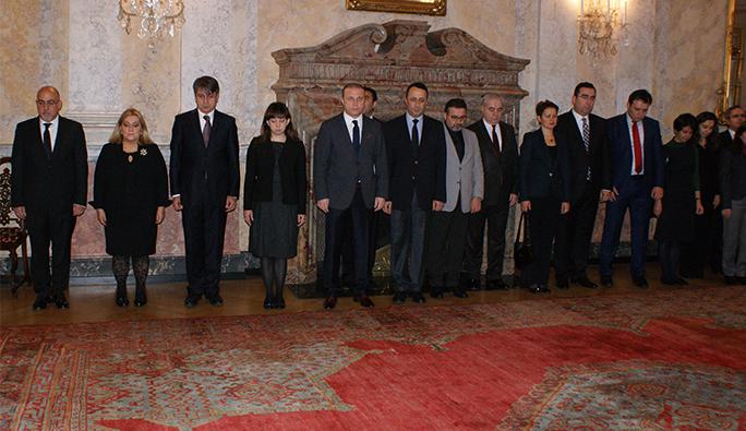 ASALA tarafından şehit edilen eski Viyana Büyükelçisi Tunalıgil anıldı