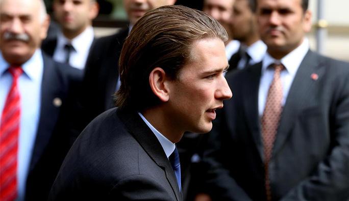 Avusturya Dışişleri Bakanı Kurz: 'Merkel yanlış yaptı'
