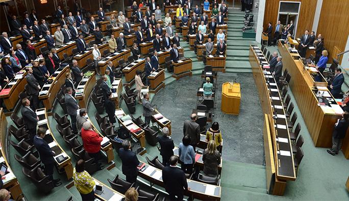 Avusturya Parlamentosu'nda 'Türkiye' için verilen soru önergesi tartışıldı
