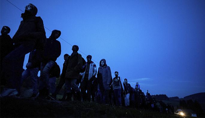 'Avusturya sınırında yakalanan bir sığınmacı bile...'