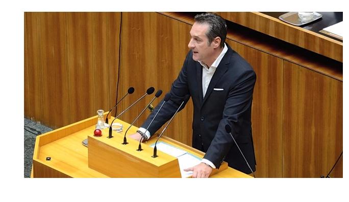 HC Strache: 'iç savaş çıkabilir'