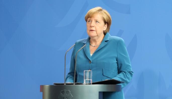 Merkel'den Başbakan Yıldırım'a taziye mektubu