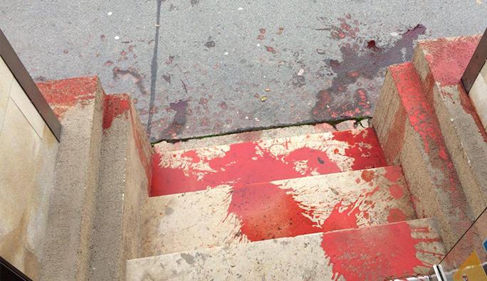Viyana'da tesettür giyim mağazasına saldırı