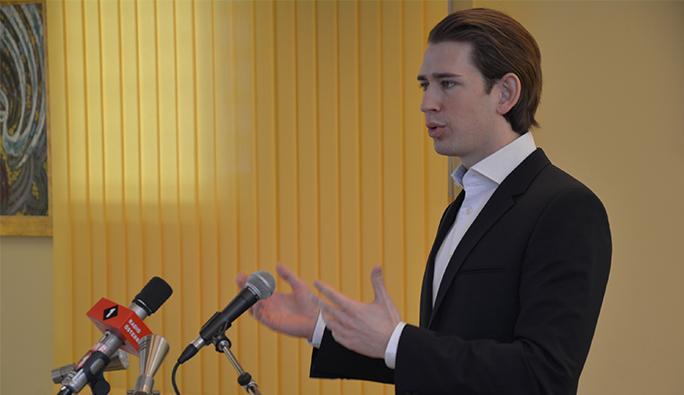 Avusturya Dışişleri Bakanı Kurz: 'Türkiye kırmızı çizgiyi aştı'