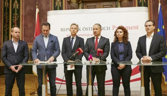 Avusturyalı siyasiler, Türkiye karşıtlığında birleşti