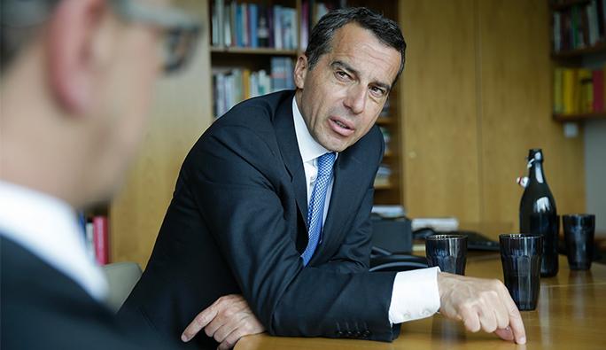 Başbakan Kern: 'Sağcılar iktidara gelirse, Avusturya daha fakir olur'
