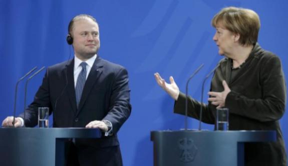 Merkel-Muscat görüşmesi
