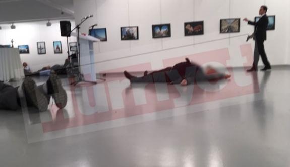 Ankara'da çatışma: Rus Elçiye Suikast