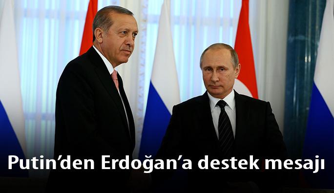 Putin: 'Failler ve azmettiriciler cezasını çekecekler, eminiz'