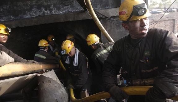 Kömür madeninde göçük 9 can aldı
