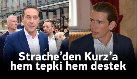Strache: 'Sebastian Kurz önerilerimizi kopyalıyor'