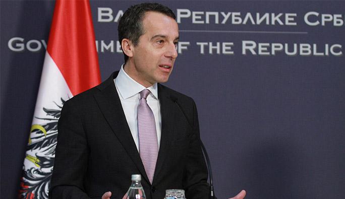 Başbakan Kern: 'Bu proje Avusturya'nın desteğini hak ediyor'
