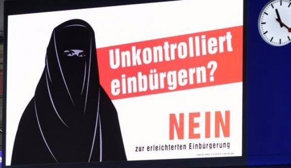 """İsviçre üçüncü nesil göçmene """"evet"""" dedi"""