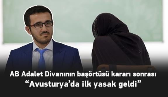 Avusturya İslam Cemaati Başkanı'ndan Yasağa İlişkin İlk Açıklama