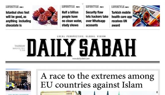 Daily Sabah gazetesinin AP'de dağıtımı yasaklandı
