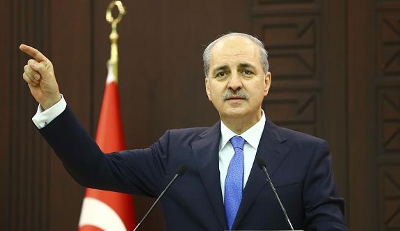 Kurtulmuş: 'Türkiye bunları seyredip duracak değil'