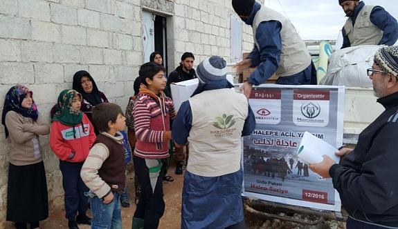 Rahma Austria Halep Yardımlarını Ulaştırdı