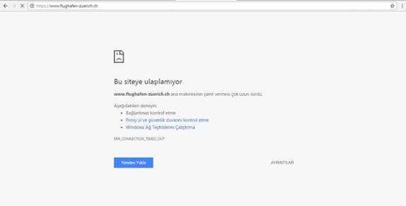 Türk hackerlardan İsviçre'ye şok!