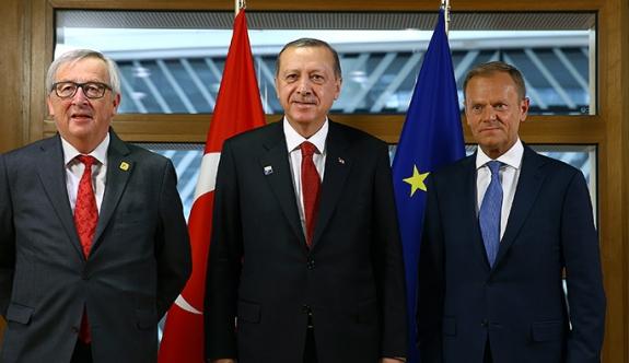 Türkiye - AB için kritik önem taşıyan zirve başladı