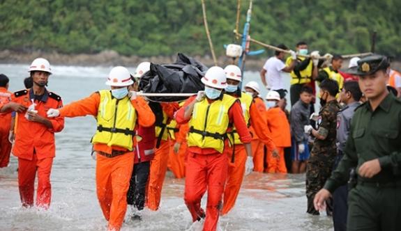46 yolcunun cesedine ulaşıldı