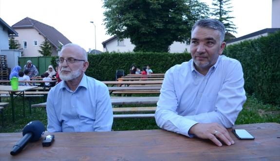 Avusturya'daki Müslümanlardan sığınmacılara iftar
