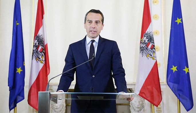 Başbakan Kern'den Kurz'un o açıklamalarına sert eleştiri