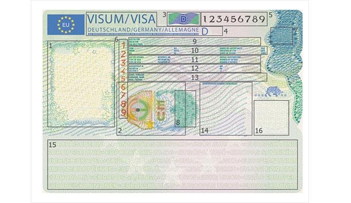 Schengen vizesinin tasarımı değişti! İşte yeni şekli