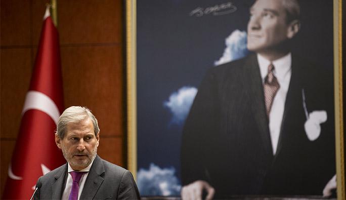 Avusturyalı AB Komiseri Hahn Türkiye'de