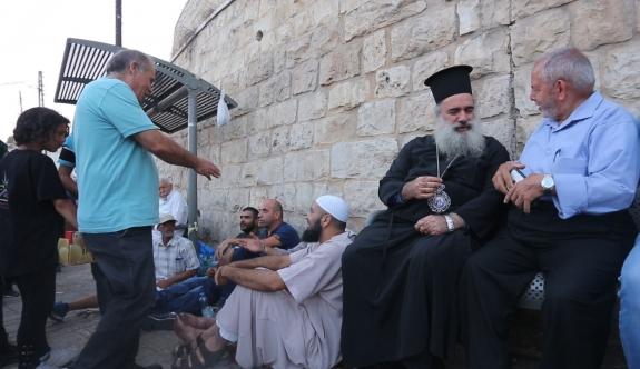 'Kudüs'teki kiliseler Mescid-i Aksa'yla dayanışma içerisinde'