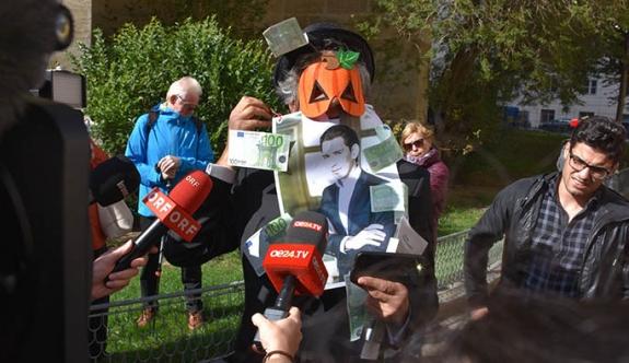 Avusturya'da Fransız iş adamından burka protestosu