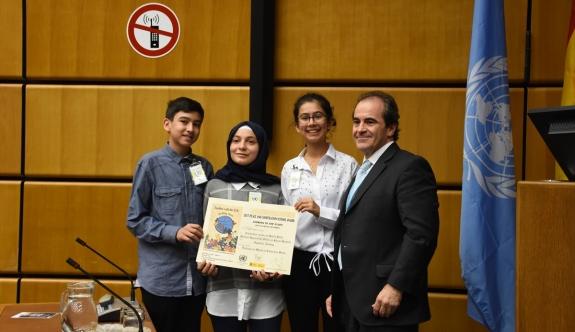 BM Viyana Ofisi'nden Türk gençlere ödül