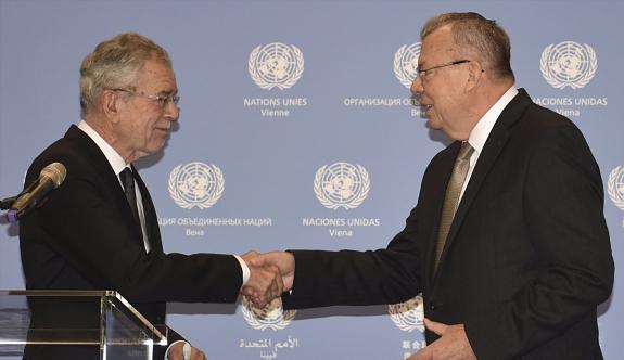 Cumhurbaşkanı Bellen'den BM Ofisi'ne Ziyaret