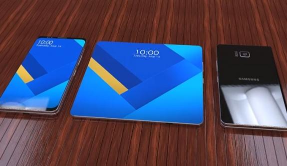 Samsung'un katlanabilir telefonu Galaxy X ortaya çıktı! Ne zaman geliyor?