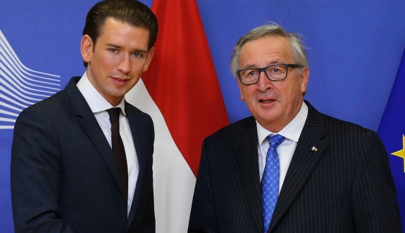 Avusturya'nın yeni Başbakanı Kurz Brüksel'de