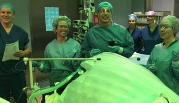 O ülkede ameliyatsız mide küçültme operasyonu yapıldı!