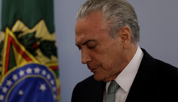 Brezilya devlet başkanı yaşadığını kanıtlamadı, emekli maaşından oldu!