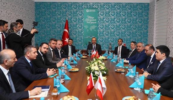 T.C. Dışişleri Bakanı Çavuşoğlu Viyana'da