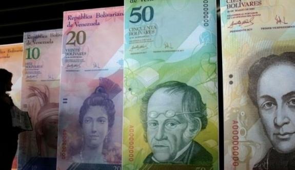 Venezuela'da 4 doların karşılığı bir çuval para!