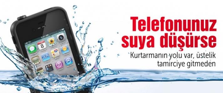 ''Akıllı Telefon Suya Düşerse Yapılması Gerekenler''