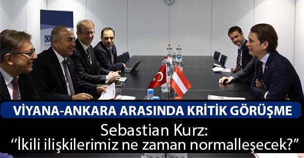 Ankara: 'Avusturya Hükümeti'nden Tatminkar Adımlar Bekliyoruz''