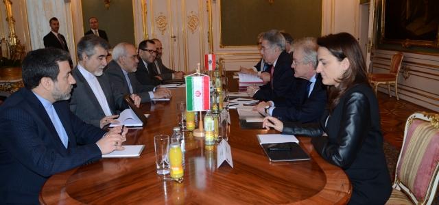 ''Avusturya Cumhurbaşkanı, Cevad Zarif ile Görüştü''