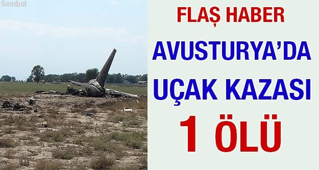 Avusturya'da uçak kazası: 1 ölü
